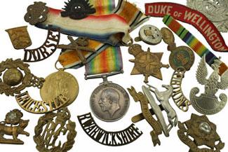 British Military Badges